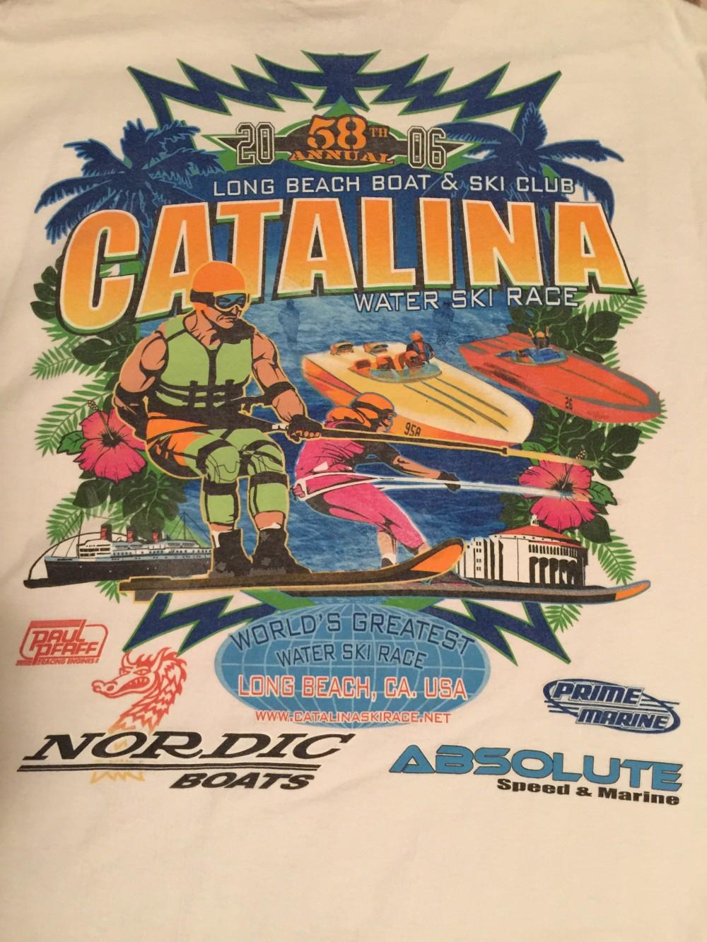 Csr T Shirts 1979 2017 Catalina Ski Race